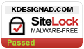 SiteLock Malware Protection for K Design & Advertising
